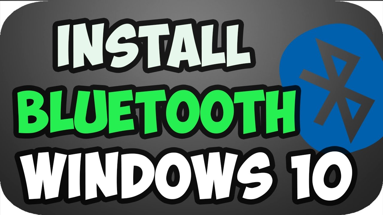 How to download and install intel bluetooth driver in windows 10/8/7