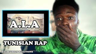 ALA USED TO REACTION ( TUNISIAN RAP REACTION 2018)