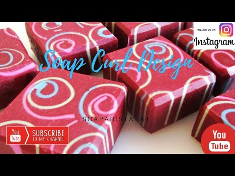 Soap Curl Design A Cold Prozess Handmade Soap By Soaparista.at