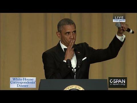 President Obama COMPLETE REMARKS At 2016 White House Correspondents' Dinner (C-SPAN)