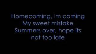 Homecoming - Hey Monday (with lyrics)