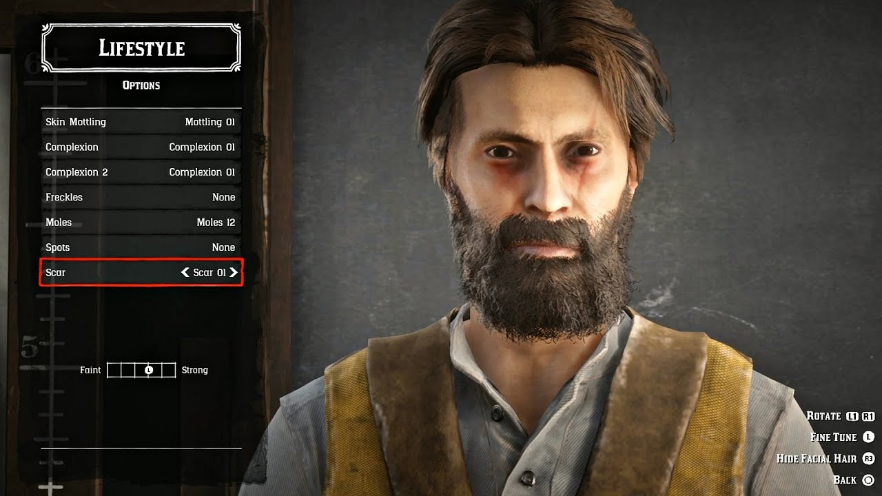 Red Dead Redemption 2 Online - Full Character Creation & Customization (All  Options) RDR2 Online