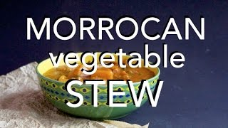 MORROCAN VEGETABLE STEW - low fat vegan recipe