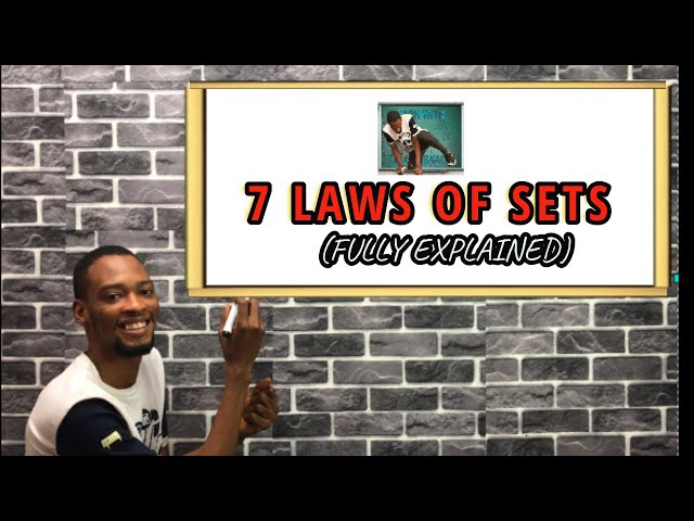7 Laws of Sets in Mathematics