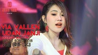 Gambar cover Via Vallen - Udan Janji ( Dangdut Koplonya Indonesia 2018 )