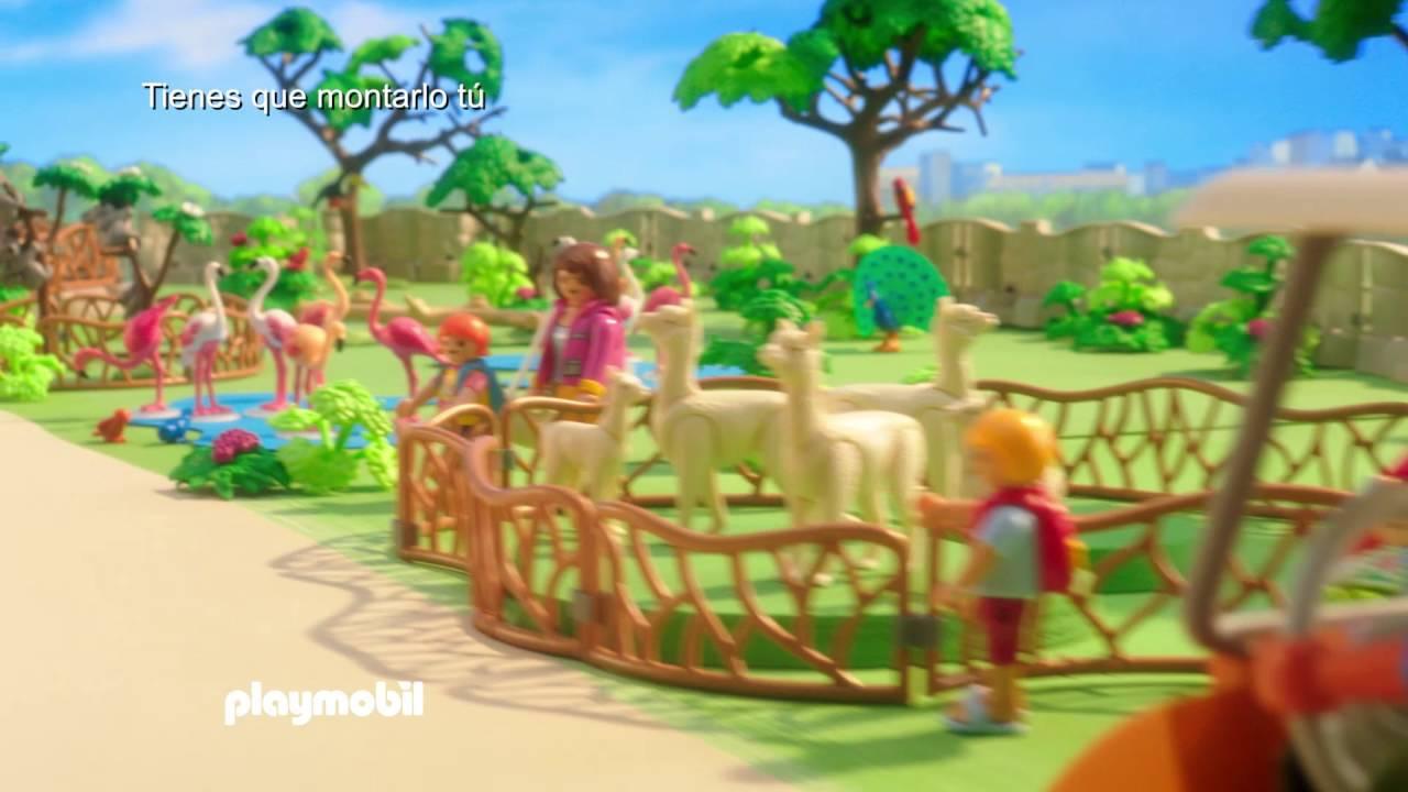 Welp PLAYMOBIL – Zoo (español) - YouTube ZR-49