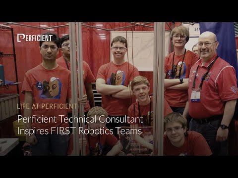 Perficient Technical Consultant Inspires FIRST Robotics Teams