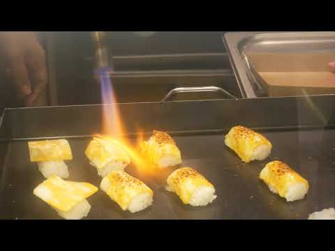 테이스틸러 치즈불초밥 / Tastealer /cheese sushi / korea street food