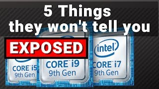 Intel 9th Generation Processors | Why you should not buy this 🚫