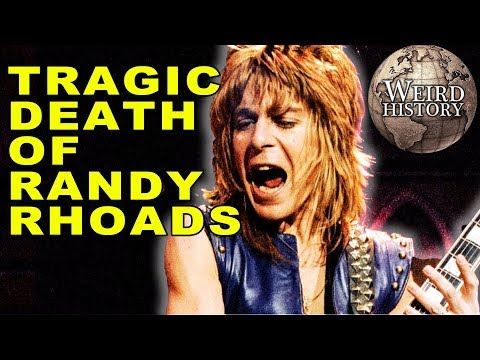 Randy Rhoads   The Guitar Prodigy's Heartbreaking Plane Crash