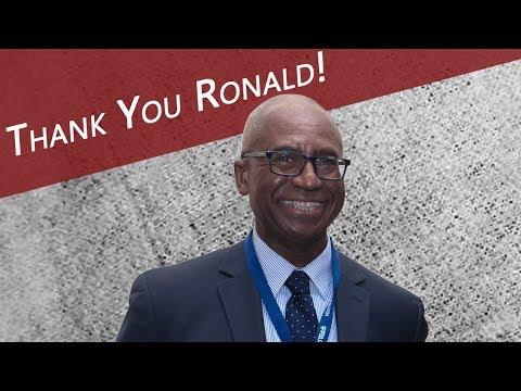 Thank you, Ronald Johnson!