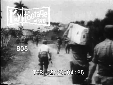 April 1961 Bay of Pigs Invasion Stock Footage  HD
