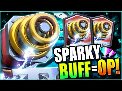 WOW! SPARKY DOMINATES after BALANCE UPDATE!! NEW DECK OP!