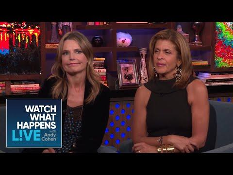 Hoda Kotb And Savannah Guthrie React To Julie Chen Leaving 'The Talk'| WWHL
