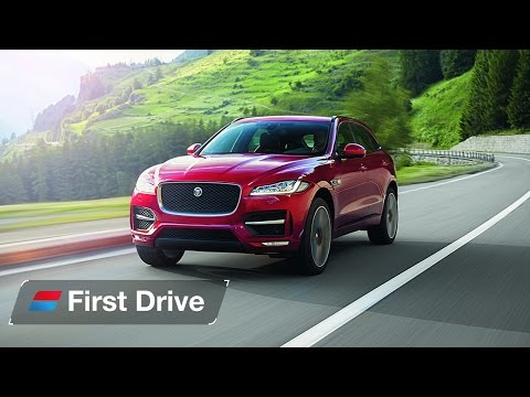 2016 Jaguar F Pace first drive review