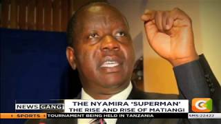 NEWS GANG | The rise and rise of Fred Matiang'i