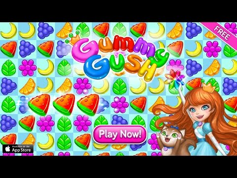 Gummy Gush: Match for Windows 10/8/7 PC and Mac Download Free