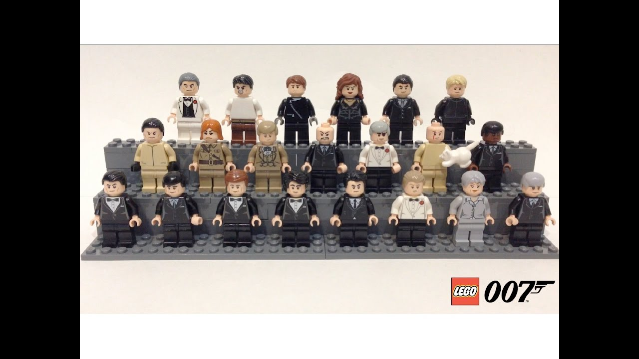 lego james bond minifigure collection youtube. Black Bedroom Furniture Sets. Home Design Ideas