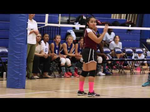 """Timberwood Middle School Volleyball - ft. """"Kayla Martinez"""""""