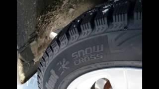 Cordiant Snow Cross 185\65 R14(Всем привет! Когда я выбирал себе шины, очень мало было информации именно об этих шинах. На сколько я знаю..., 2017-01-03T21:13:36.000Z)