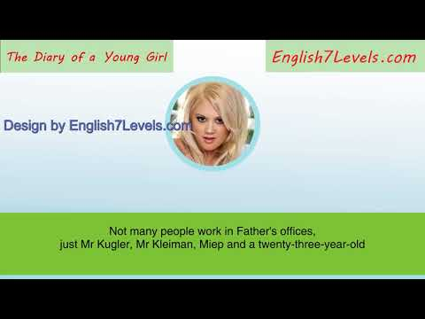 Learn English Through Story Subtitles: The Diary of a Young Girl (pre-intermediate lev