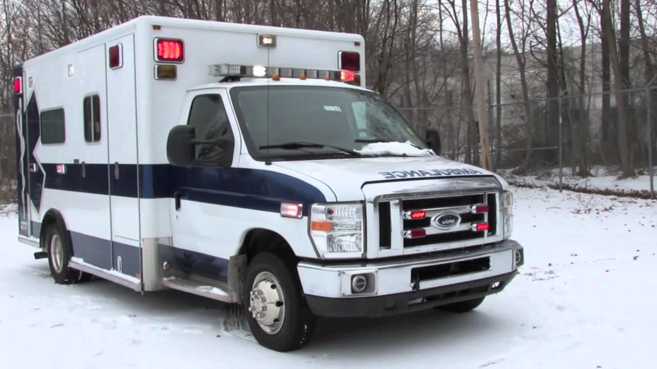 Ambulances For Sale >> 2008 Ford E450 Type III Ambulance by Horton - YouTube