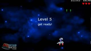 PSP Homebrew game Chicken Invaders version 1.2 by Kairus