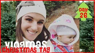CHRISTMAS TAG | Vlogmas Day 26