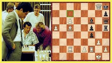 Kann Felix Magath Schach spielen? || Garri Kasparov vs. Felix Magath Simultan 1985