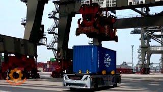 Самые умные автоматизированные морские порты Китая