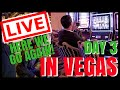 """🔴 LIVE """"Here we go Again!"""" VEGAS CASINO ✦ Playing Slot Machines ✦ with Brian Christopher"""