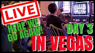 "🔴 LIVE ""Here we go Again!"" VEGAS CASINO ✦ Playing Slot Machines ✦ with Brian Christopher"