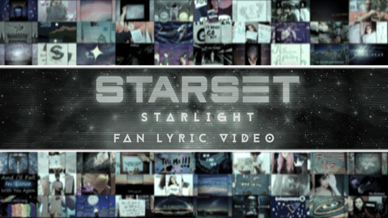 Download STARSET - STARLIGHT (FAN LYRIC VIDEO)