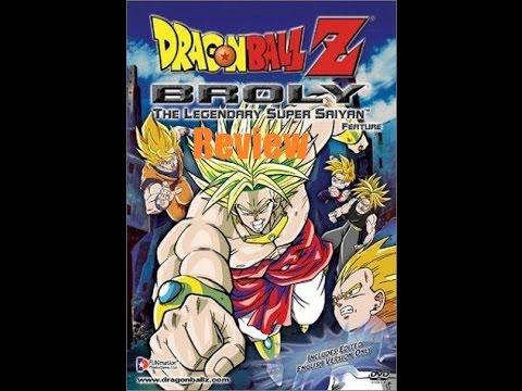 Dragon ball z: broly the legendary super saiyan 1993 movie.