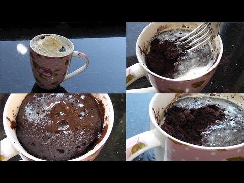 Saftiger Nutella Schoko Tassenkuchen In 5 Minuten Youtube