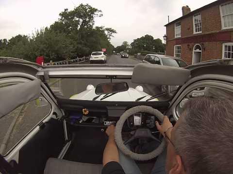 Take a drive in a 2CV