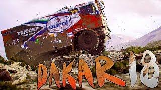 Dakar 18 - Truck Racing On The Dunes! - Dakar Rally Simulator - Dakar 18 Gameplay