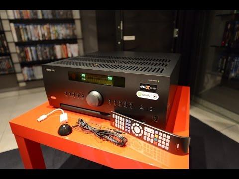 Test Arcam AVR 550 Dirac 2.0 Dolby Atmos Heimkino Receiver