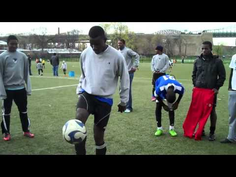 South Bronx United Soccer College Showcase - Bazo Juggling