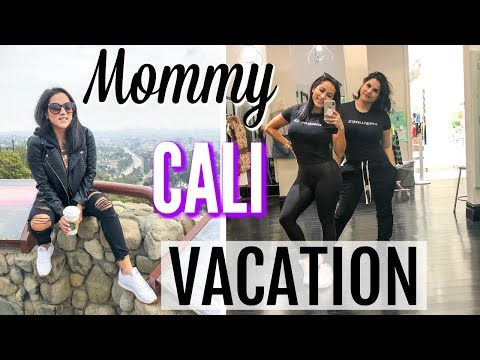 MOMMY CALIFORNIA VACATION | TRAVEL VLOG | PART ONE | XoJuliana