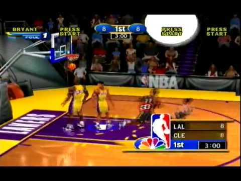NBA Showtime (NBA On NBC) Dreamcast Gameplay