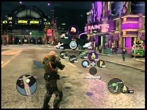Saints Row The Third invisible gun glitch!