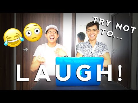 TRY NOT TO LAUGH! (Impossible for us...)