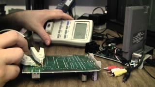 NES 101 Nintendo Top Loader - CPU PPU repair - no clock signal