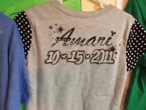 1aadf5cbd airbrushed t-shirts