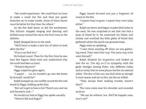 LOTF   Chapter 8