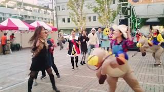 シタマチ.ハロウィンでダンス!Halloween dance 2016