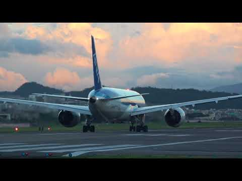 [4K] Plane Spotting at Taipei Songshan AIrport | Dramatic Clouds! | 松山機場