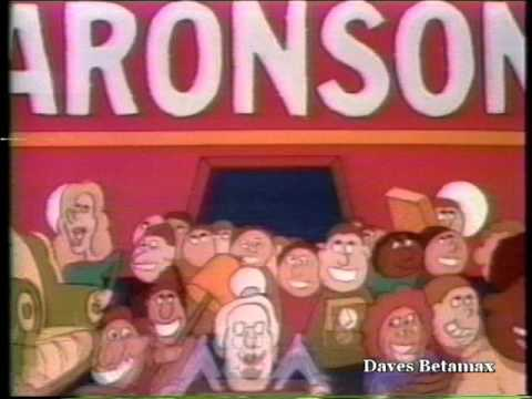 Aronson Furniture Chicago Wgn Commercial 1984 Youtube