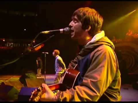 Oasis-Cast No Shadow-live maine road 96